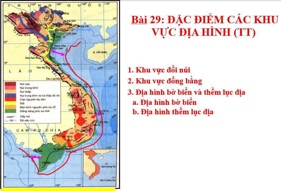 Bài 29: Đặc điểm các khu vực địa hình (Tiết 2)_THCS Bình Hòa Tây_Mộc Hóa