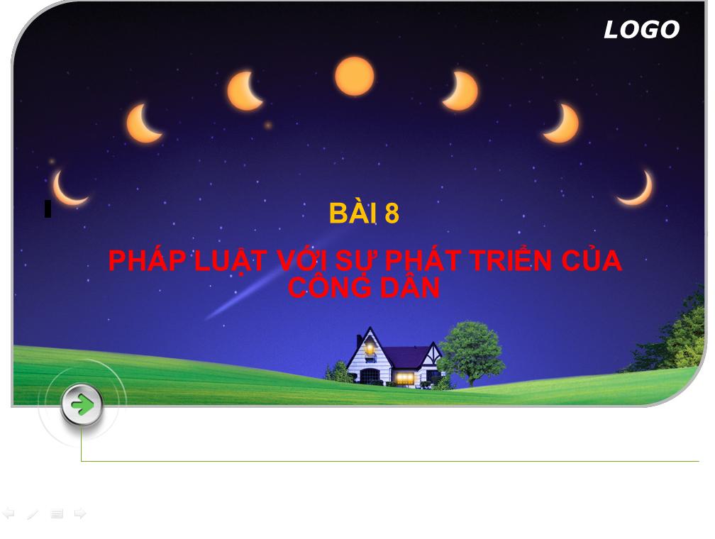 Bài 8 Pháp luật với sự phát triển của công dân_THPT Hùng Vương_Tân An