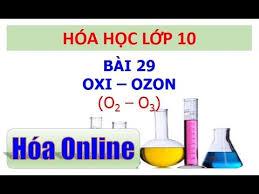 Oxi - Ozon - THPT Vĩnh Hưng