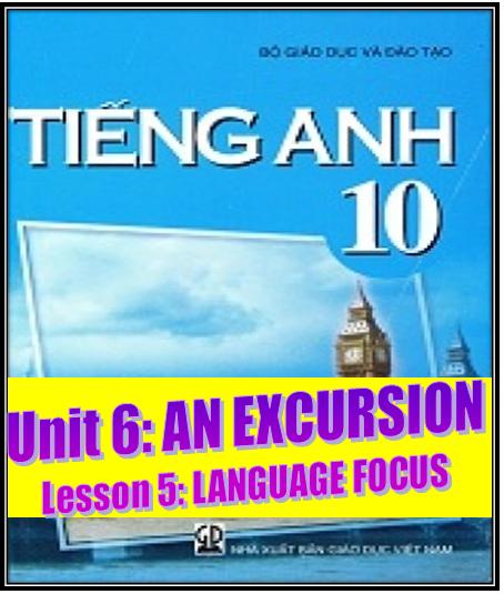 Unit 6. Language Focus