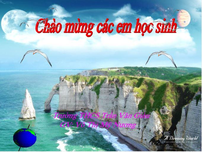 Địa lí 6_Hơi nước trong không khí và mưa_THCS Trần Văn Giàu_KT
