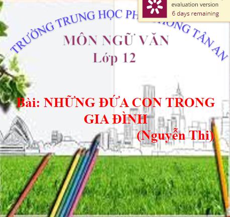 Ngữ Văn 12-THPT Tan An