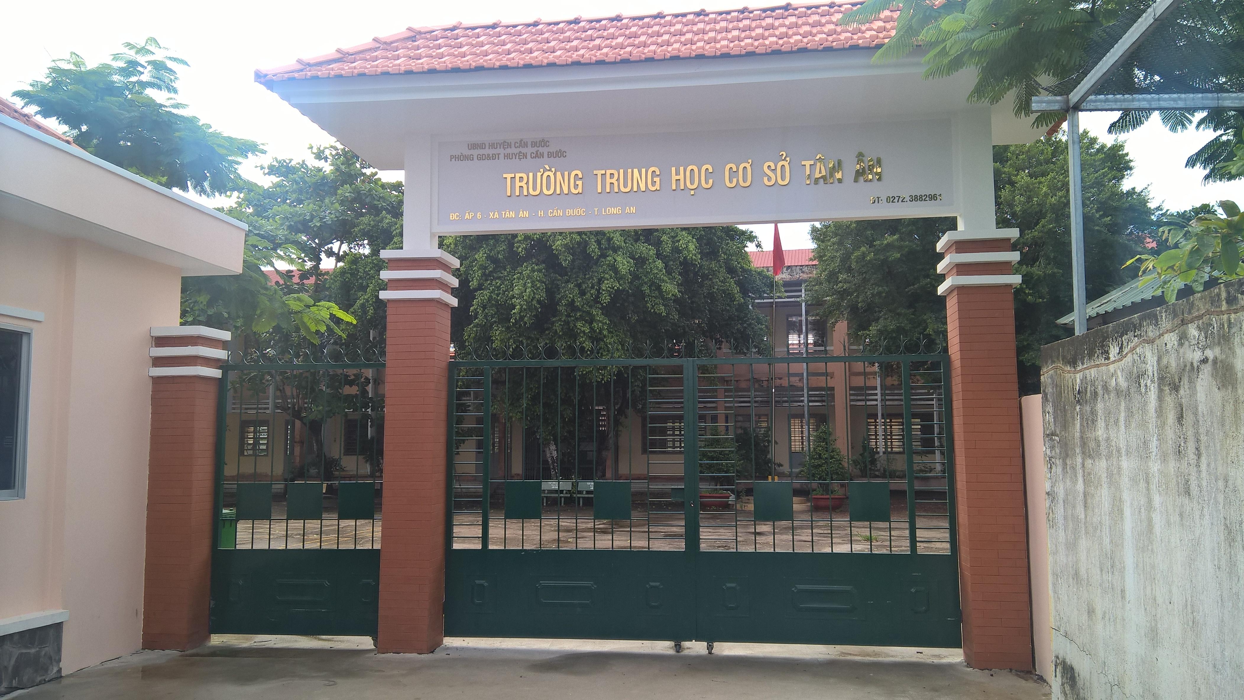 Nhảy xa TTTC - Thể dục 8_THCS Tân Ân_Cần Đước